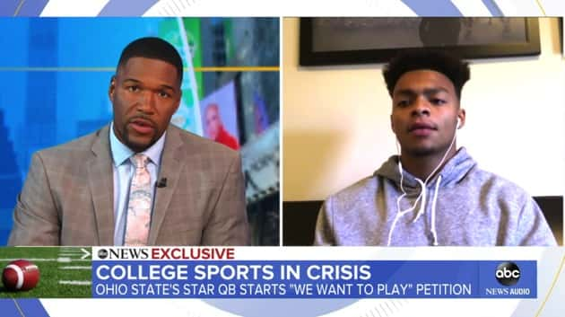 Ohio State quarterback discusses 'We Want to Play' college football  petition | KSRO