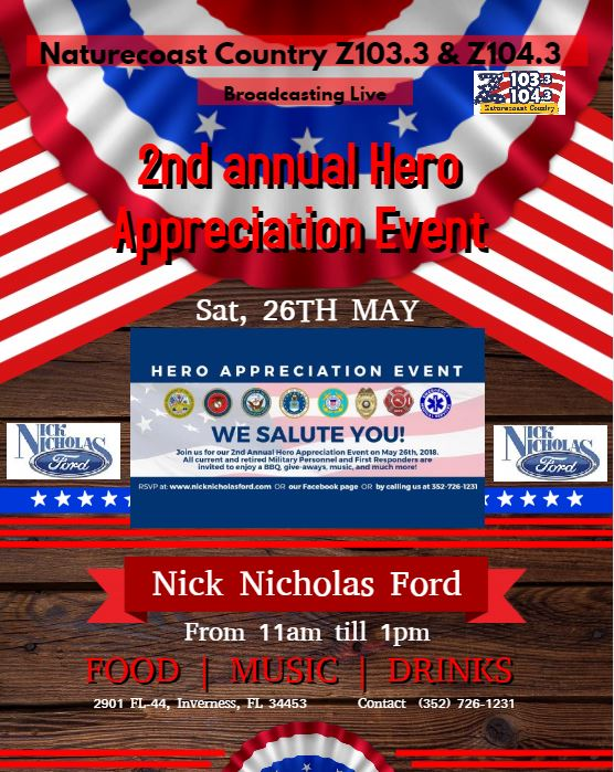 Nick Nicholas Ford Inverness >> Naturecoast Country Live On Location Nick Nicholas Ford
