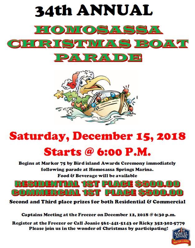 2021 Homosassa Christmas Boat Parade Homosassa Christmas Boat Parade 2018 Citrus 95 3