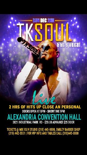 Win TK Soul Tickets