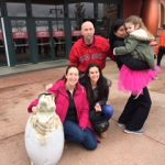 Family wins dinosaur egg Halloween lawn ornament