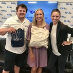 Grand Prize winner Michelle Kline with Matt & Erika