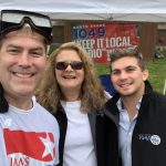 Lindsey & Nathan with State Rep Jim Kelcourse