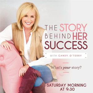 The Story Behind Her Success Logo