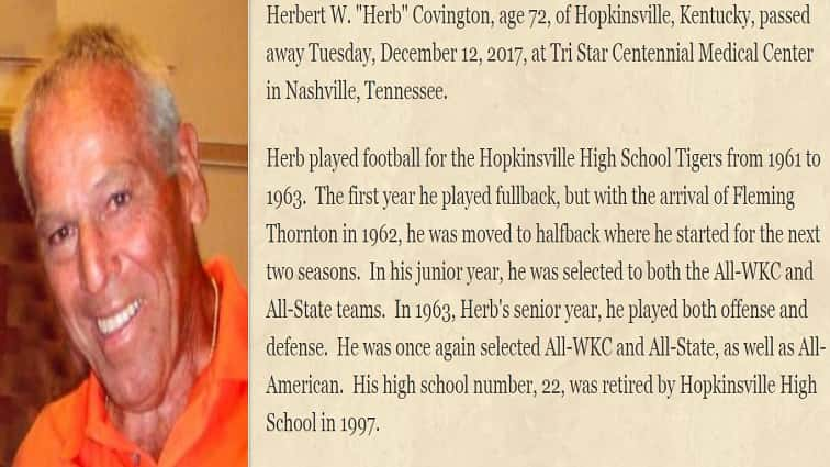Tiger Football Legend's Legacy to Live on Through