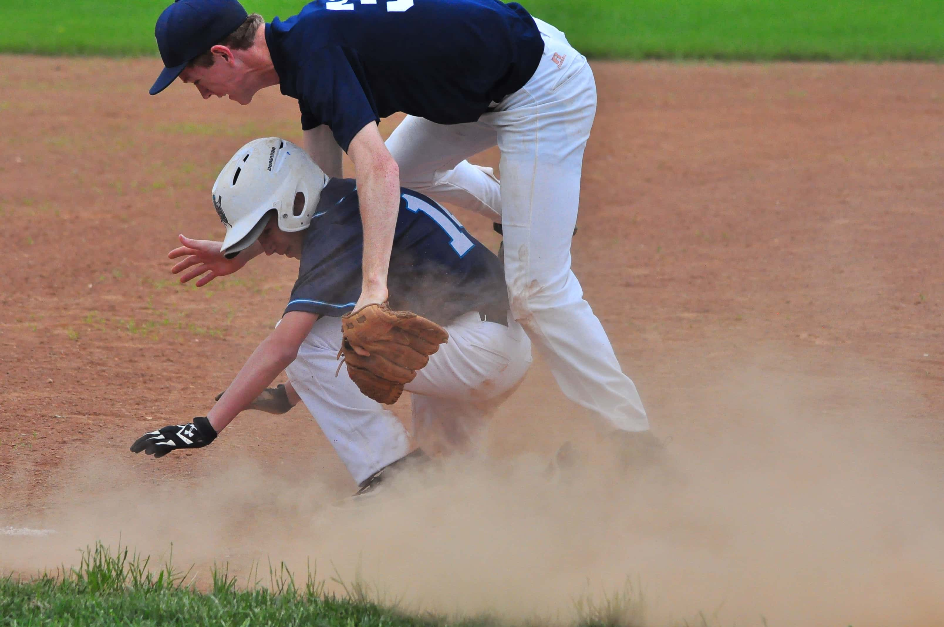 PHOTOS – Heritage Christian Baseball Sweeps Two