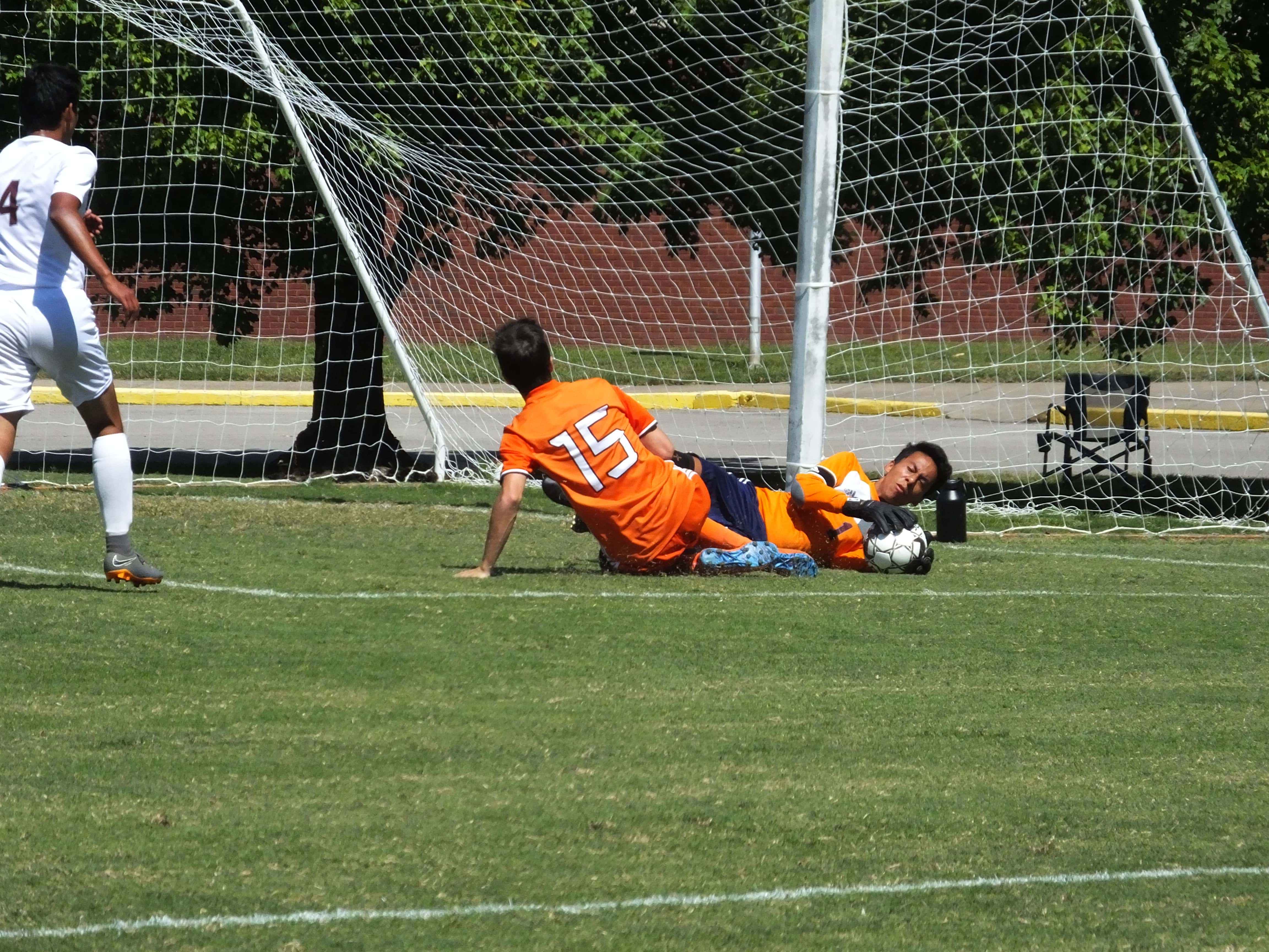 Greenwell's Hat Trick Carries Hoptown Past Marion County