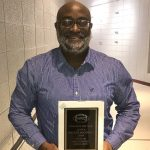 Waynee McGowan, who served as interim coach of the Caldwell County football team, was named the Western Kentucky Conference Football Coach of the Year Wednesday at the annual WKC Banquet.