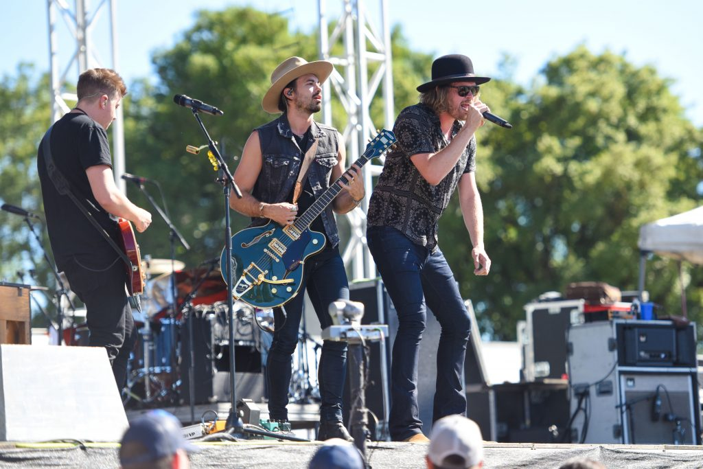 A Thousand Horses Was The Third Performance Today On Chevy Silverado Stage Here At Country Summer Day 2 And They Kept Party Alive With Their