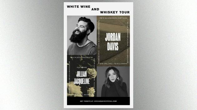 Newcomer Jordan Davis pours White Wine and Whiskey, as