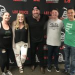 Jenn, Amber, Tanner and Dano hang with Lee Brice before his sold out show at Luther Burbank Center for the Arts.