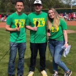Dano, Tanner and Amber MC Opening Day at Rincon Valley Little League in Santa Rosa.