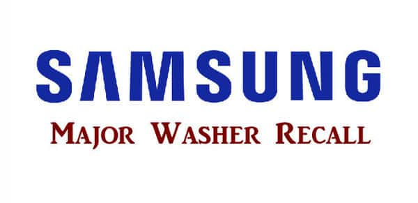 Samsung Recalls 2 8M Washers | Moody on the Market