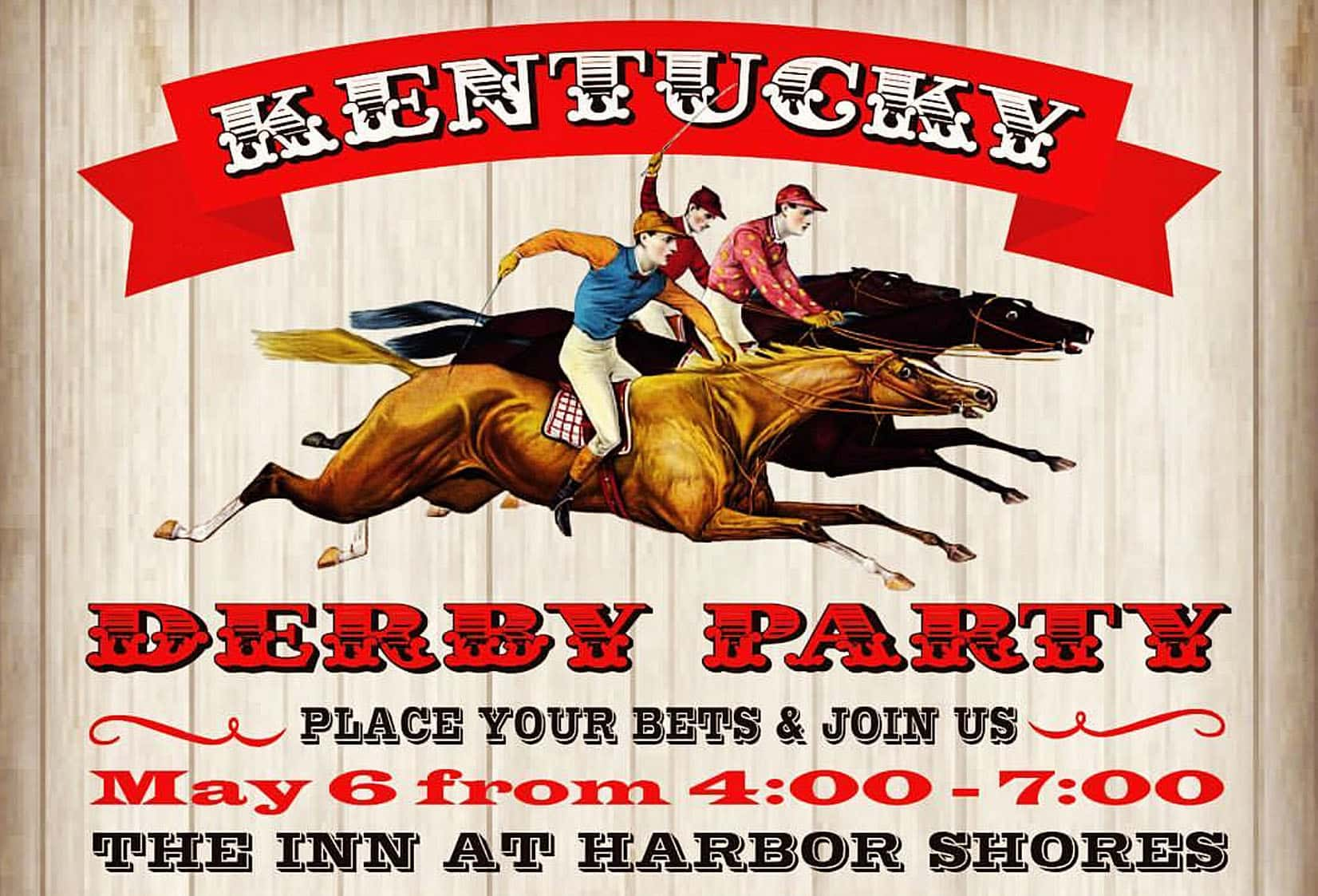 Time to Book Your Derby Party to Benefit Humane Society