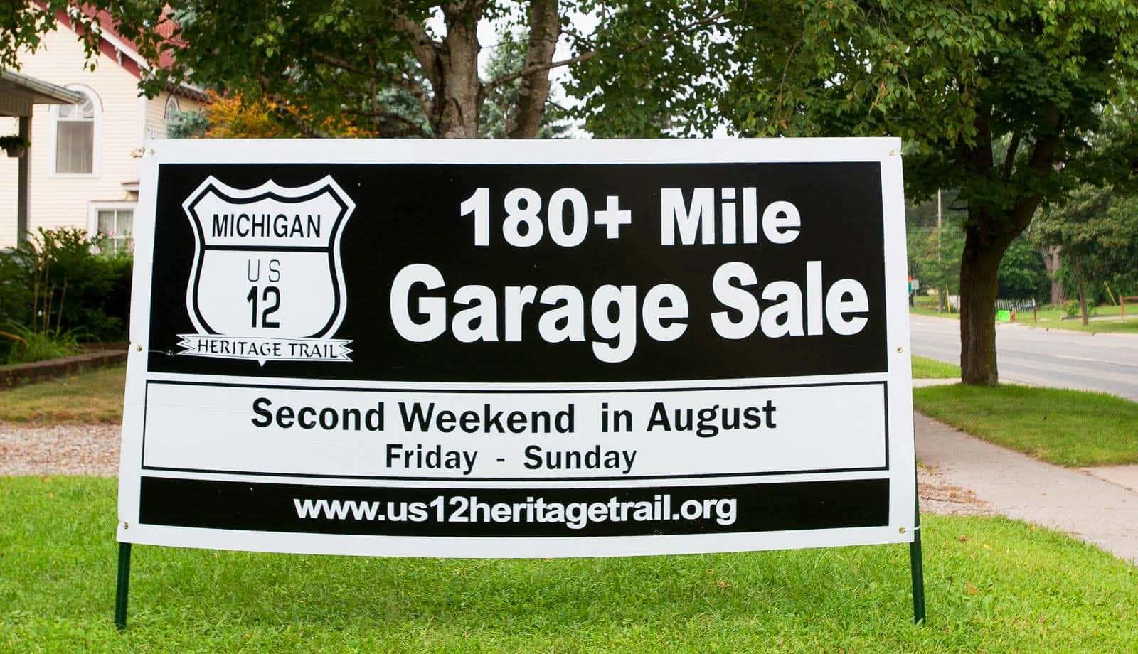 Michigan S Longest Garage Sale Along Us 12 Coming Aug 9 11 Moody