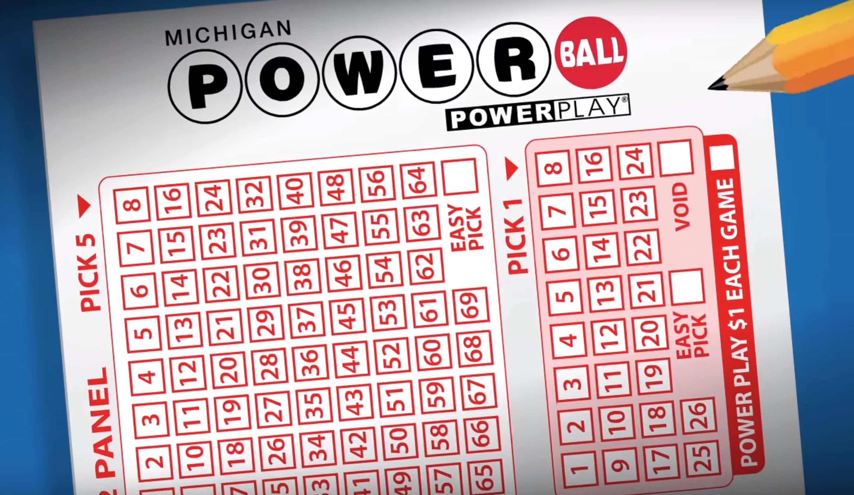 Michigan Buying 100,000 Powerball Tickets An Hour Today | Moody on the  Market
