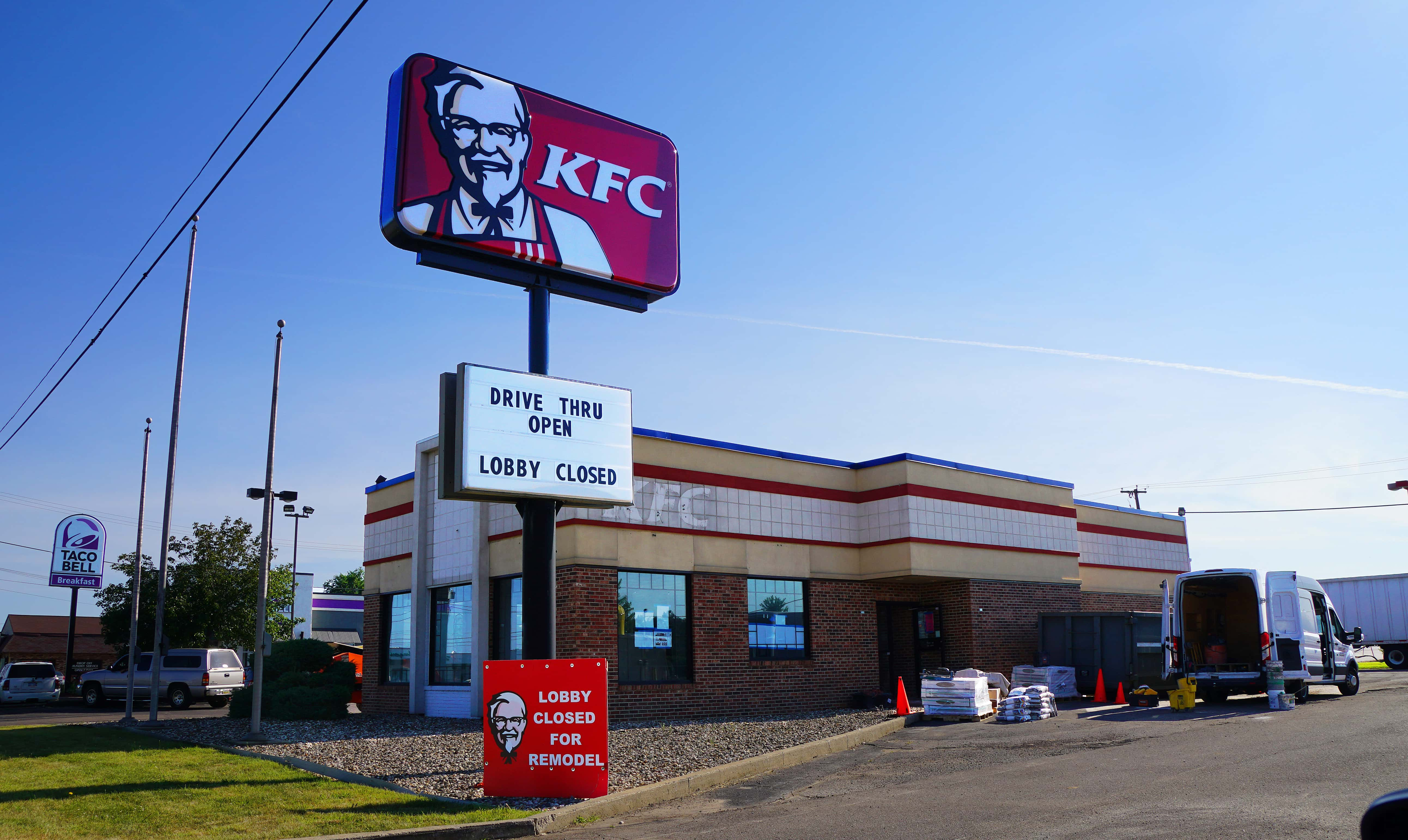 Benton Harbor KFC Kitchen Back Open for Drive Through Service ...