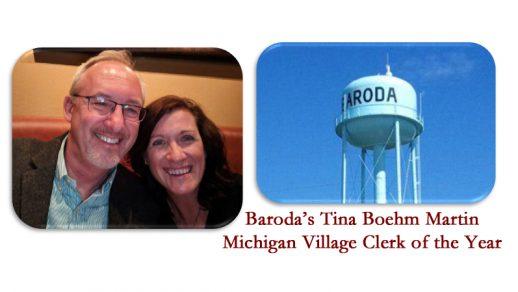 The Ubiquitous Tina Martin Garners Title of Michigan Village Clerk