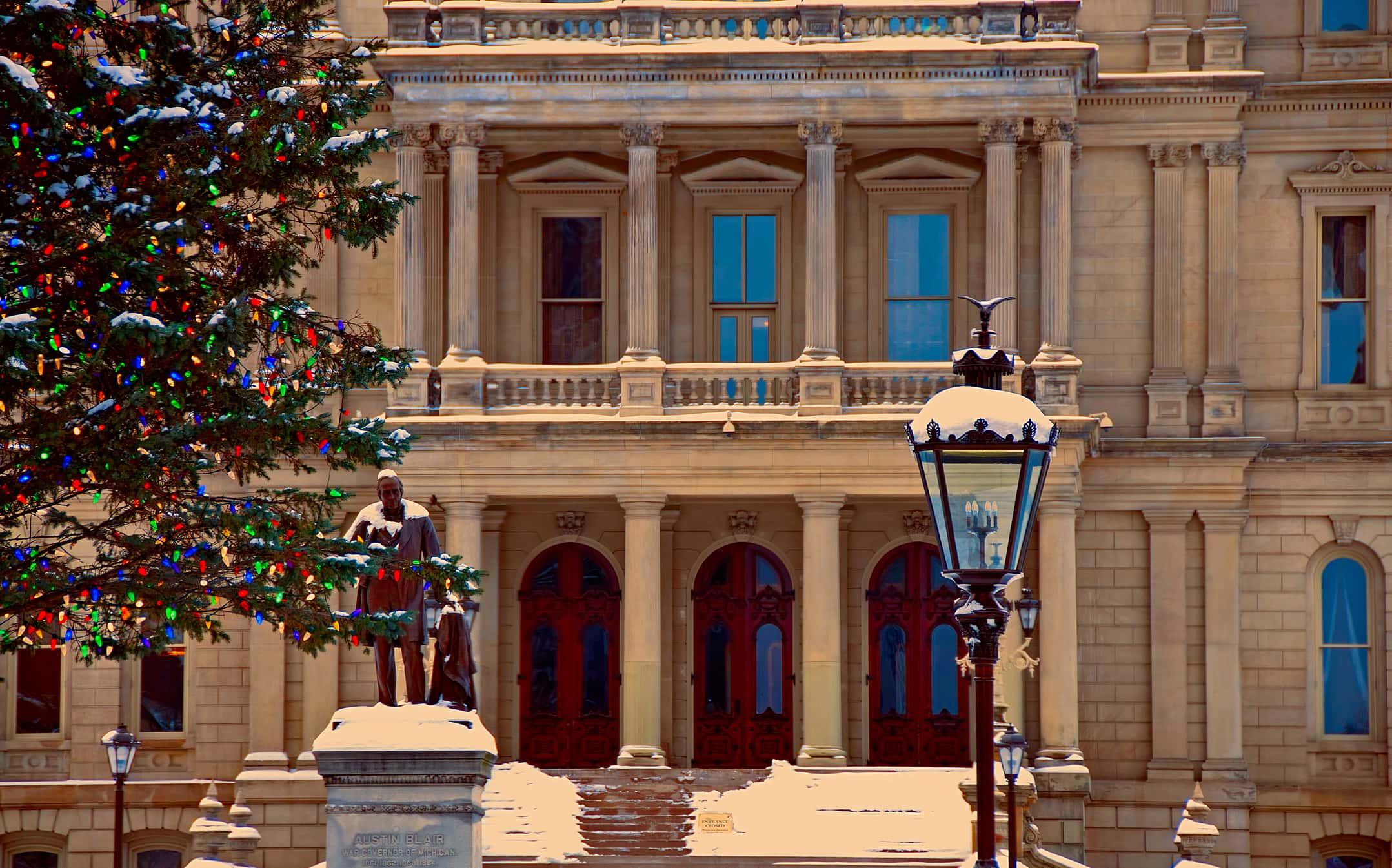 Christmas Donations 2019 Michigan Launches 2019 Search for Donation of the Capitol