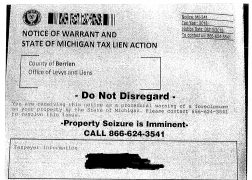 Berrien Treasurer Warns of Bogus Letter Warning of Imminent
