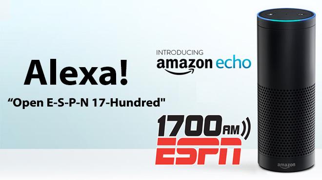 ESPN 1700 on Alexa