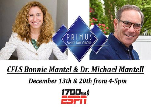 Family Law Matters with Bonnie Mantel & Dr. Michael Mantell