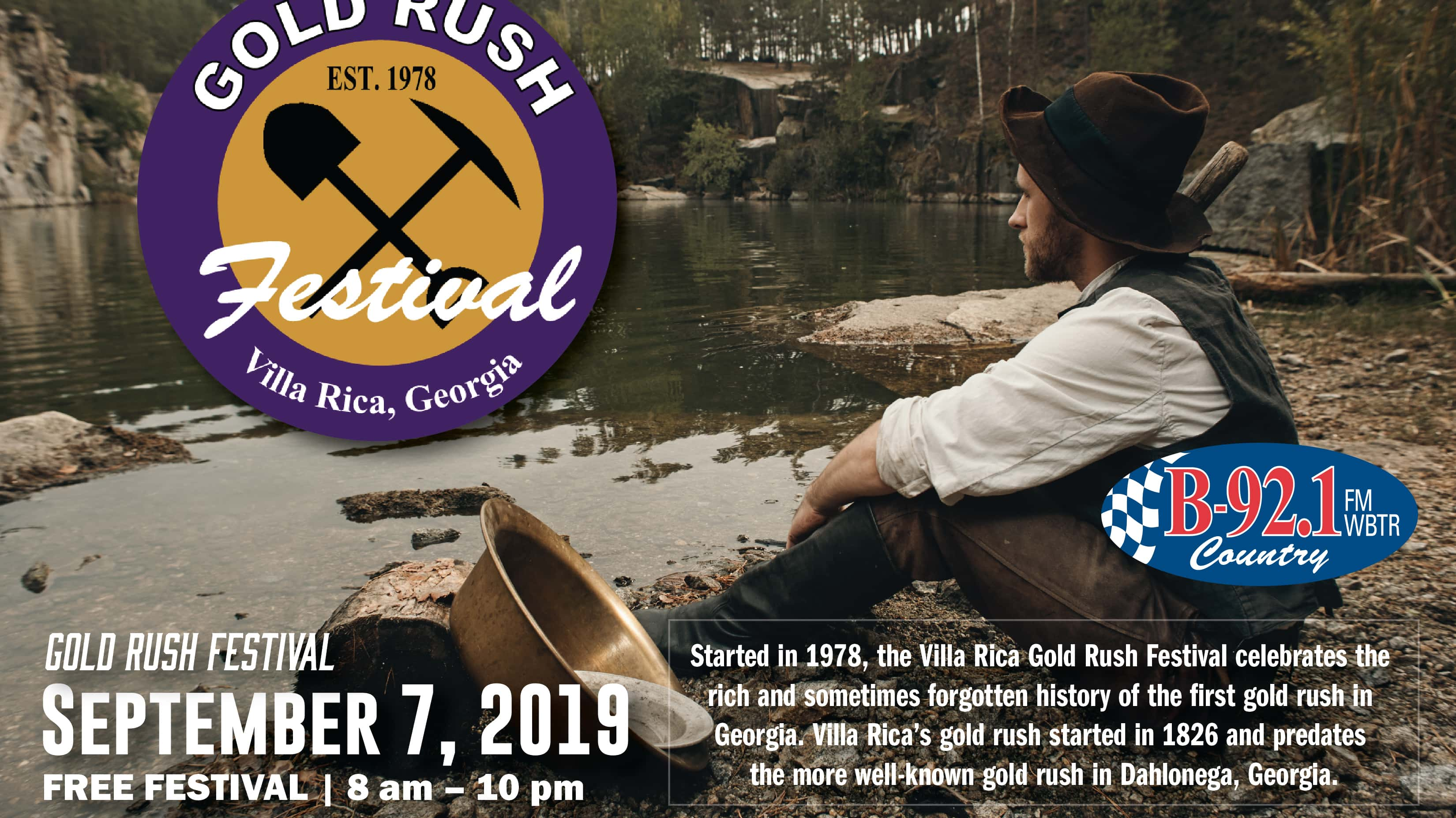 Gold Rush Banner   Gradick Communications LLC