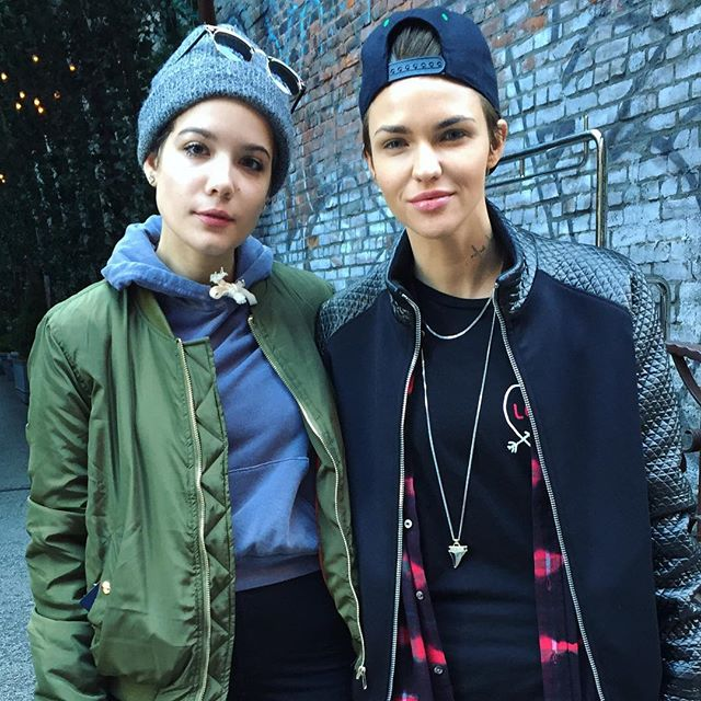 are ruby rose and halsey dating hot 1017