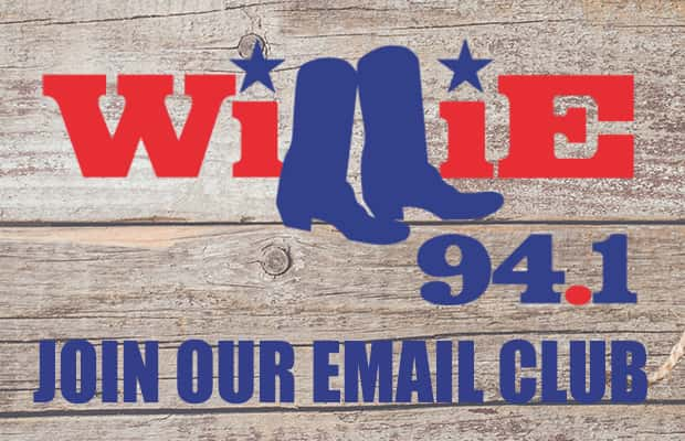 Willie VIP Email Club