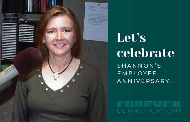 Shannon's Employee Anniversary