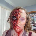 Zombie makeup: Zombie Costume, makeup I did myself
