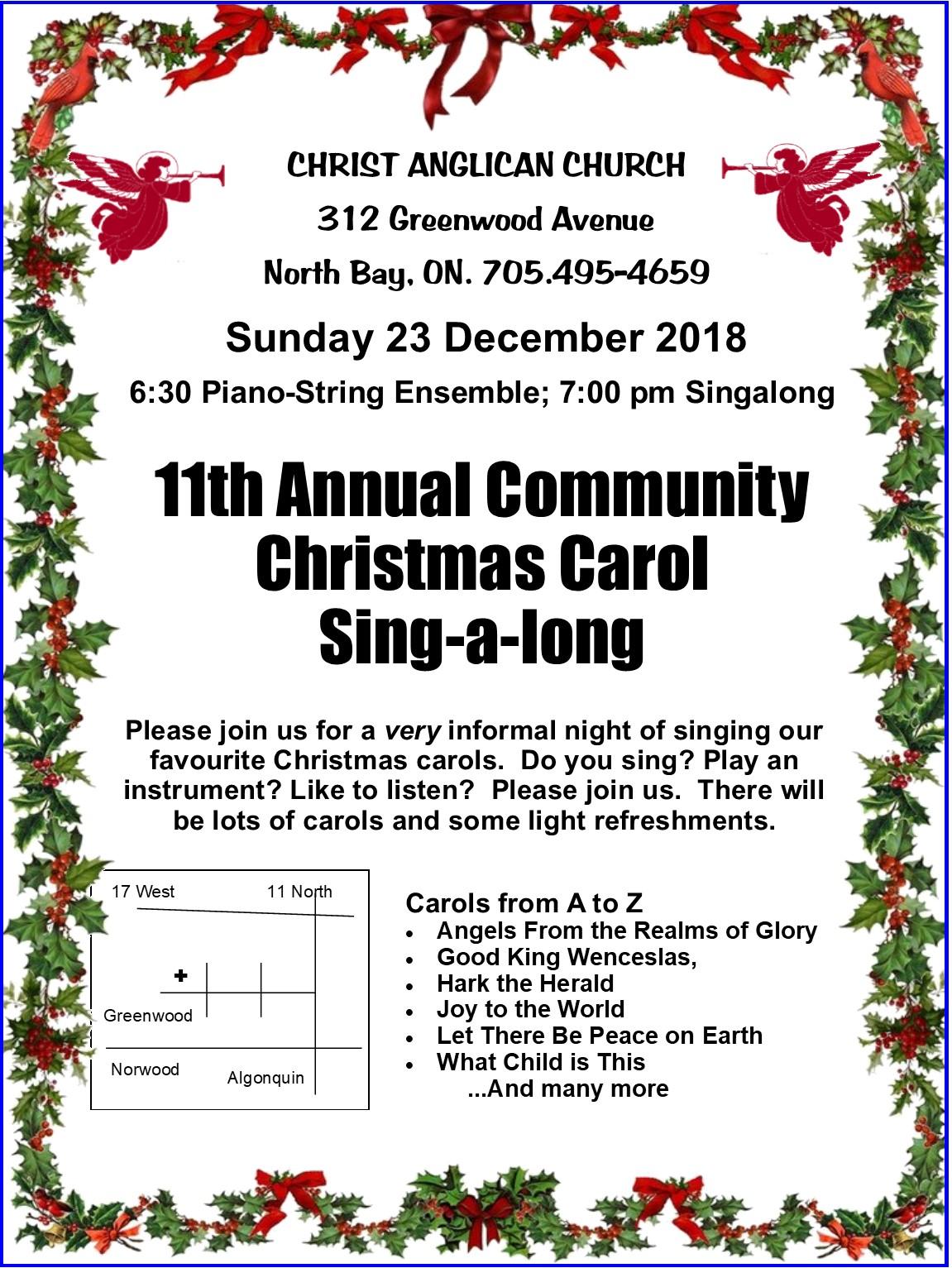 December 23 – Christmas Carol Singalong | KFM Radio