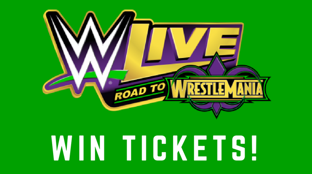 Win Tickets: WWE LIVE ROAD TO WRESTLEMANIA | My Rock 98