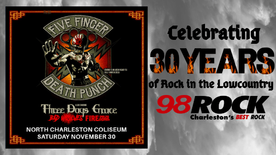 My Rock 98 | Charleston's Best Rock
