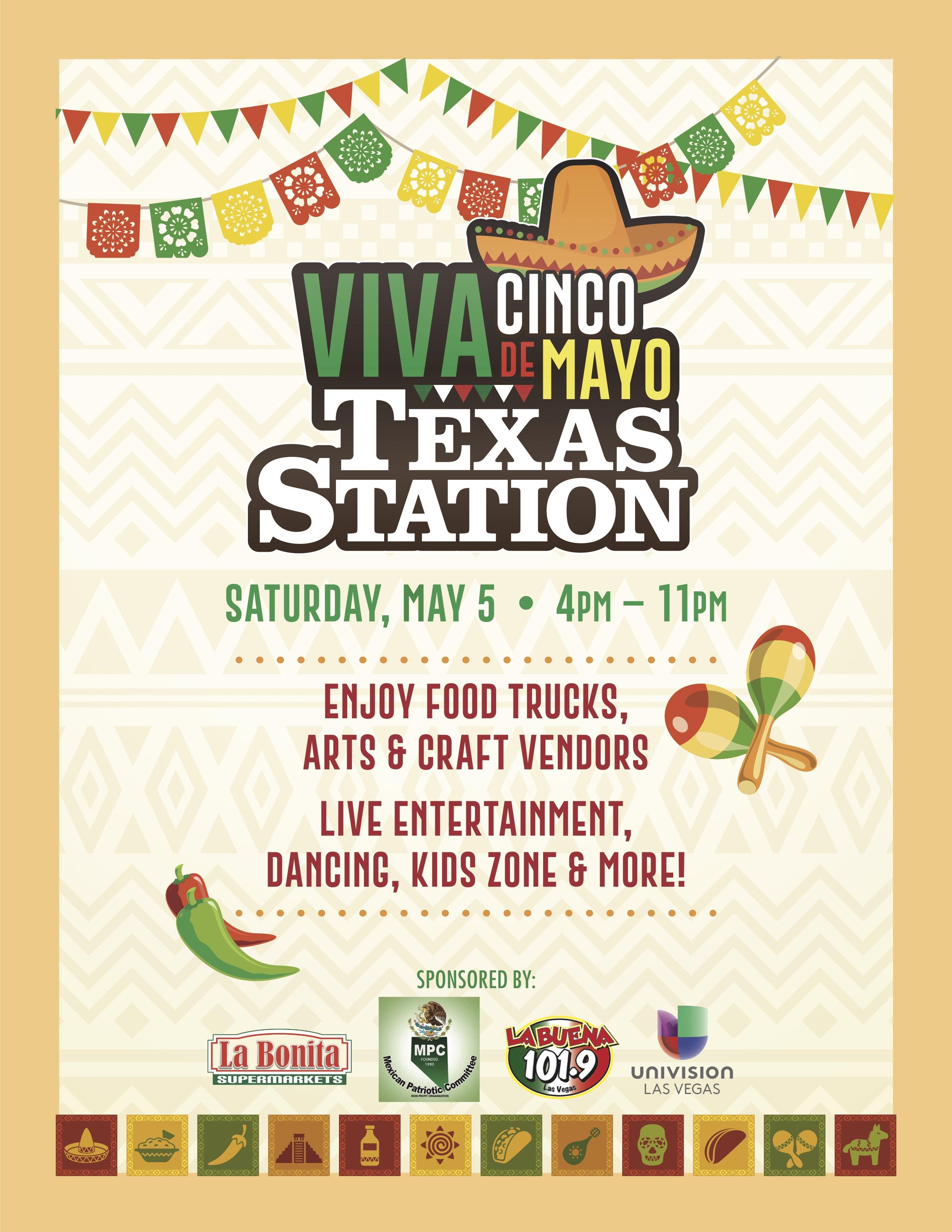 Texas Station Viva Cinco De Mayo La Buena 101 9