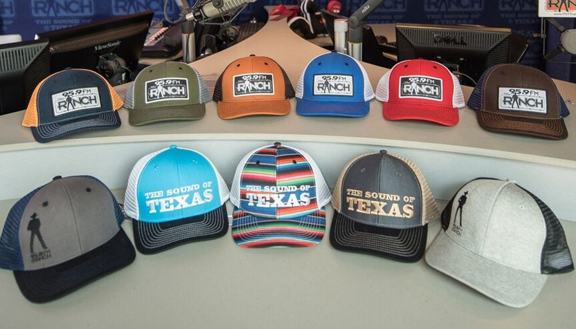16a6bf470b86f Collect all thirteen different styles of the NEW premium 95.9 The Ranch  Trucker Caps