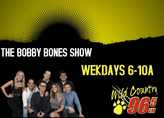 Wild Country 96 5 | Home of the Bobby Bones Show and Today's