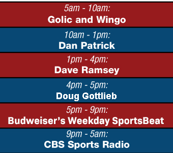 Weekdays on WSBT Radio