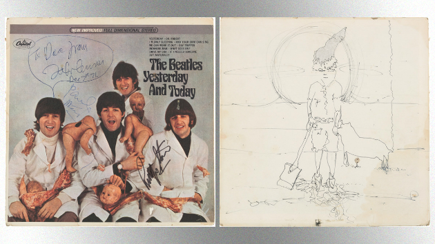 John Lennon Owned Copy Of The Beatles Quot Butcher Cover Quot Is