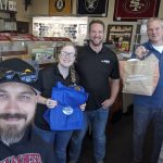 Congratulations to the team at  Rugworks in Rohnert Park! The Danny Wright Show brought them free lunch from Hooters , Amy's Wicked Slush and 97.7 The River - Classic Rock For The North Bay!