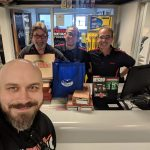 Congratulations to the team @ NorthBay Nissan Parts Department in Petaluma! The Danny Wright Show brought them Free lunch from Papa John's Pizza!