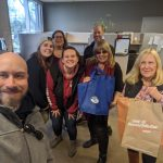 Congratulations to Nicole and the team at Vintage Wine Estates in Santa Rosa! I just brought them lunch from Hooters in RP and goodies from Amy's Wicked Slush and 97.7 The River!  #FreeloaderFriday #FreeloaderFridays