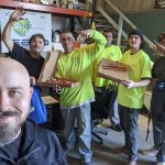 Congratulations to Ward and the team at Ace Insulation Inc in Petaluma! They're today's #FreeloaderFriday winners! I brought them lunch from Mountain Mike's Pizza (3125 Cleveland Ave, Santa Rosa, CA), #AmysWicked Slush and 97.7 The River - Classic Rock For The North Bay!