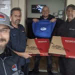 Congrats to Gary and the team @ Fix Auto Collision in Santa Rosa! Today's #FreeloaderFriday winners! Grub from Mary's Pizza Shack (Santa Rosa West) and goodies from #AmysWickedSlush and 97.7 The River - Classic Rock For The North Bay!
