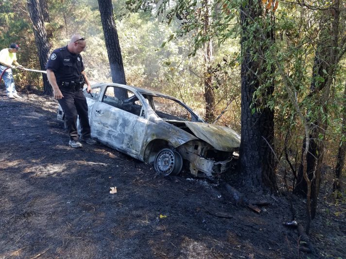 Car Found In Flames In Woods Henry Co Sheriff S Office