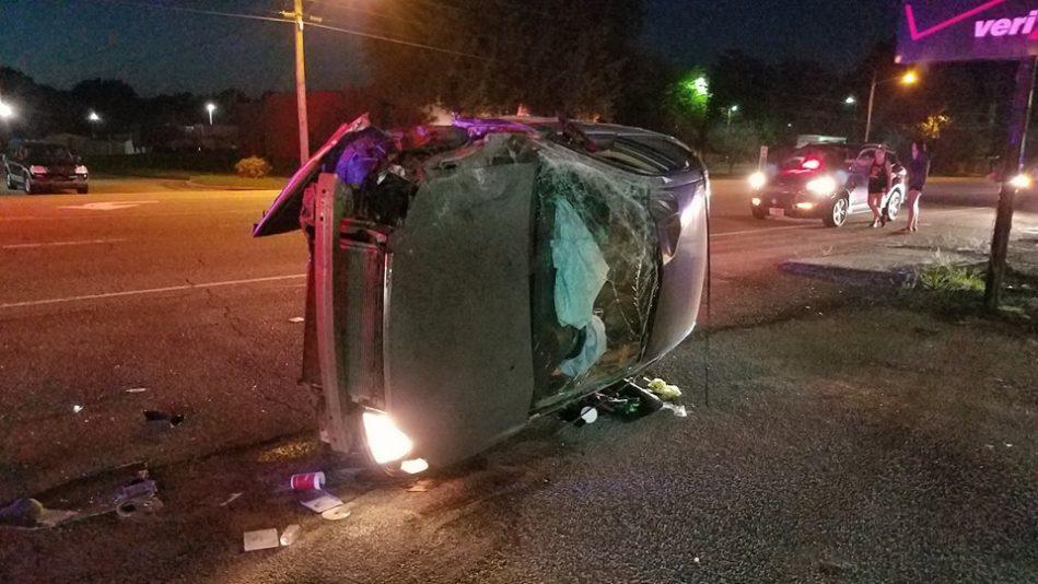 Two Rollover Wrecks In McKenzie Saturday Night | WENK-WTPR