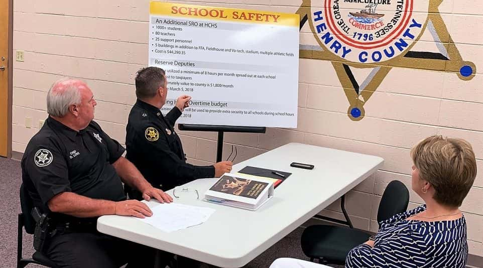 Henry Co  Sheriff's Office To Expand School Resource Officer Program