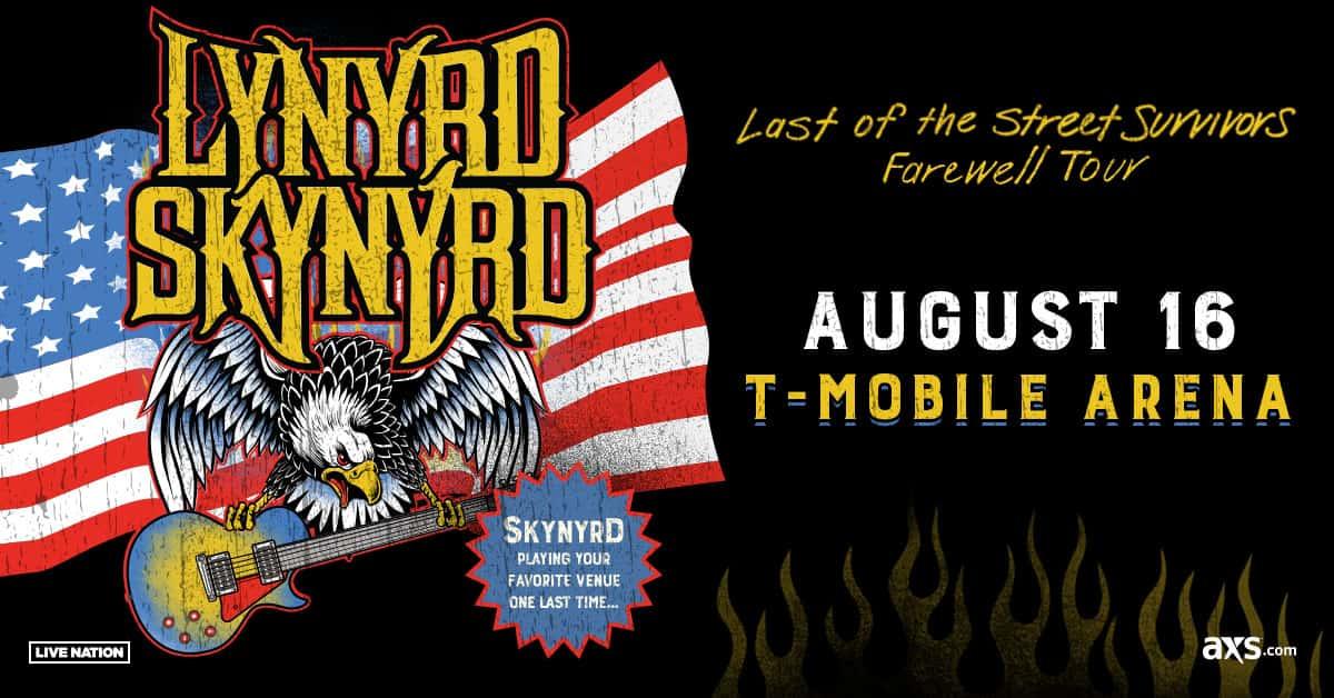 3067f934a2 Lynyrd Skynyrd  Last of the Street Survivors Farewell Tour