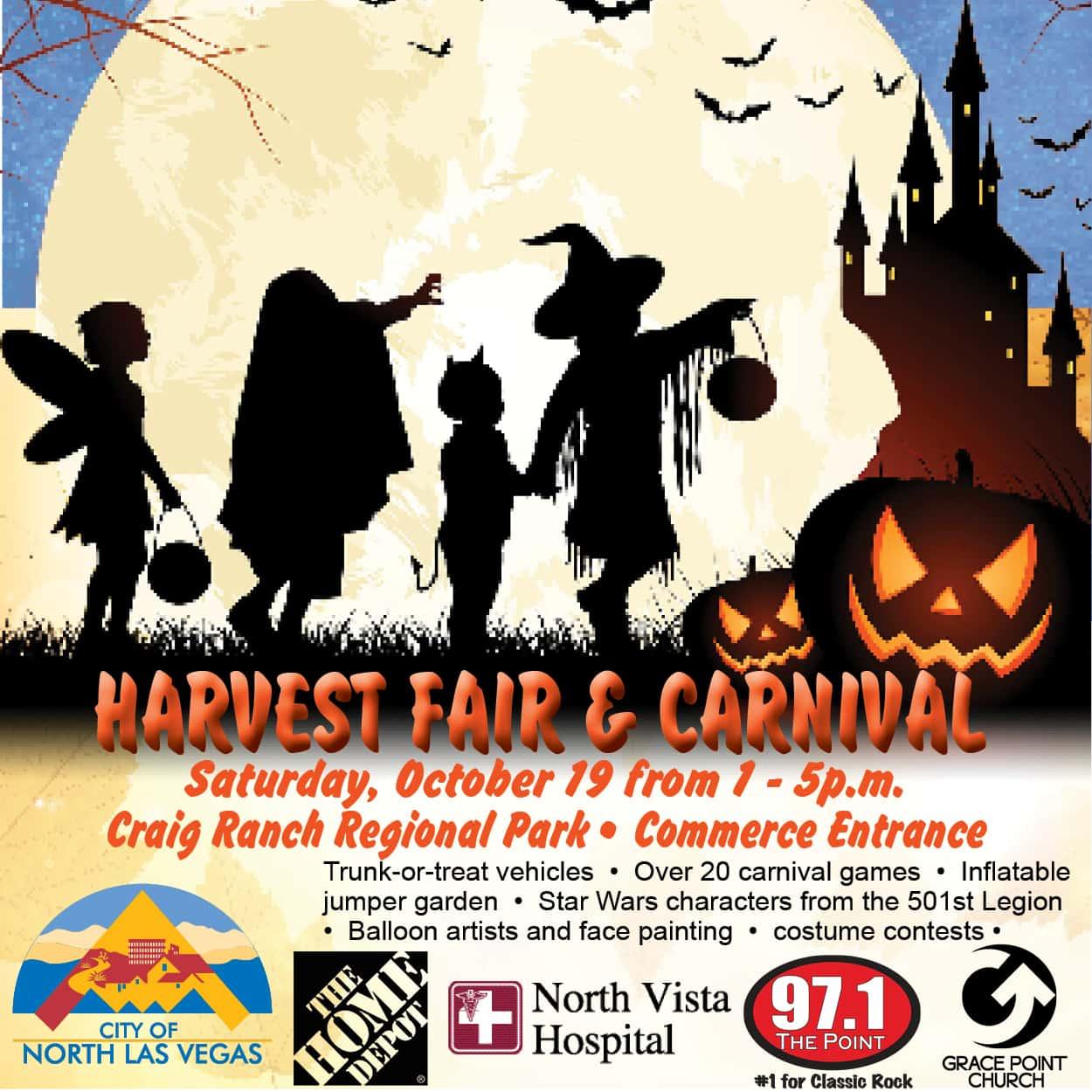 Halloween 2020 Craig Ranch Park Trunk Ot Treat Harvest Fair & Carnival | 97.1 The Point