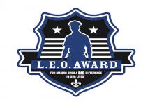 leo award logo